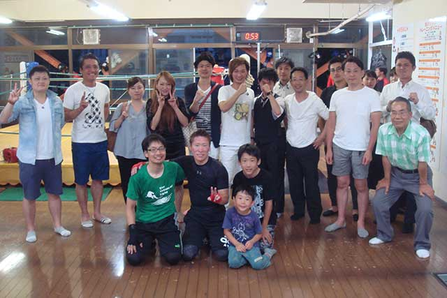 名古屋のボクシングジムUNOのスパーリング