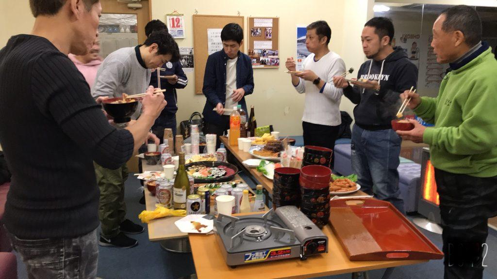 名古屋のボクシングジムUNOの新年会